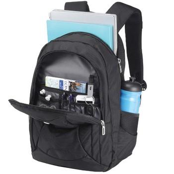 美国森泰斯Sumdex 15寸悬空绒里超轻双肩电脑男背包PON-366BK89元包邮,两色可选