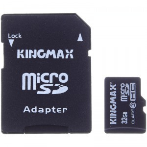 Kingmax 胜创 32GB TF(micro SDHC) Class10 高速存储卡易迅网华东站报价109包邮,可以使用100-10优惠券,实付¥99,历史新价,其他B2C渠道最低需¥189。