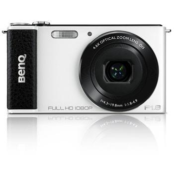 明基 G1 数码相机 白色(1400万像素 3英寸旋转屏 4.6倍光学变焦 F1.8大光圈 1080P高清摄像)999元包邮,有机会赢100元京券