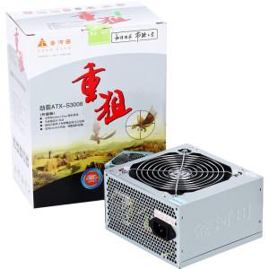 限华南:GoldenField 金河田 劲霸ATX-S3008升级版 台式机电源+奥妙无磷洗衣粉 300g87元(99+3-15)