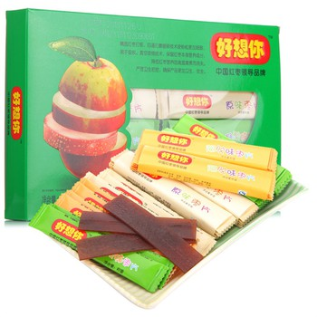 河南特产 好想你混装枣片360g 健康零食32元,买一赠一