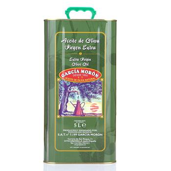 GARCIAMORON 卡尔西亚摩龙 特级初榨橄榄油 5L 铁罐装179元包邮(319元,下单减100,可用200-40券)