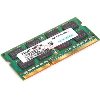 MIRAGES 幻影金条 DDR3 1600 4G 笔记本内存139元包邮,华南、西南、华中地区现货,这个价格再不入手就没了