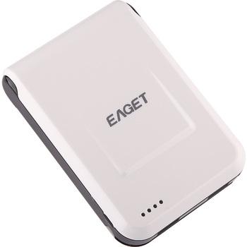 EAGET 忆捷 PM6 10400mAh 大容量2A三输出 移动电源 99元包邮,性价比尚可