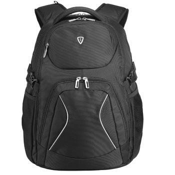 美国森泰斯 Sumdex17寸平板手机男士旅行双肩电脑背包PON-379BK黑119元包邮(199-80)
