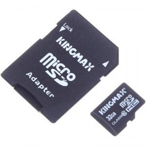 Kingmax 胜创 32GB TF 存储卡(Class10、三防)99元(109-10,限华东)