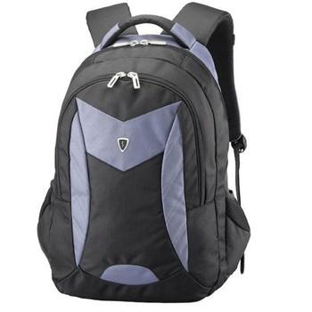 美国森泰斯Sumdex 15寸悬空绒里超轻双肩电脑男背包PON-366GY灰蓝98元包邮