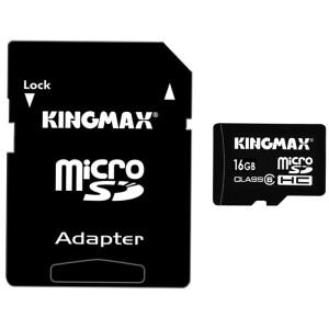 限华中:Kingmax 胜创 TF(Micro SDHC) 16GB class 6 存储卡32元,清仓价