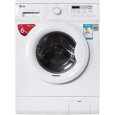 lg wd-n12435d 滚筒洗衣机 6公斤 白色,2188元包邮(-)