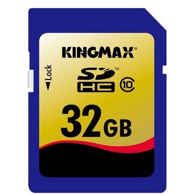 KINGMAX存储卡 SDHC-32G (CLASS 10)75元