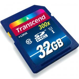 创见(Transcend)32G(UHS-I 300X)SDHC存储卡69元包邮