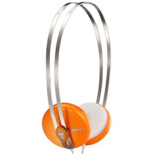 限华东:Bingle 宾果 i330 头戴式便携耳机 桔色19元
