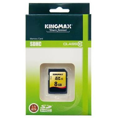 KINGMAX存储卡 SDHC-8G (CLASS 10)19.9元包邮