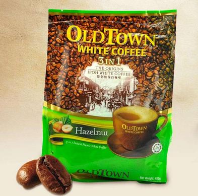 OLD TOWN 旧街场榛果味白咖啡480g19.9元