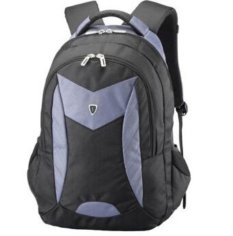 美国森泰斯Sumdex 15寸悬空绒里超轻双肩电脑男背包PON-366GY灰蓝68.6元
