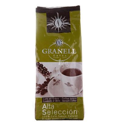 Granell可莱纳 高级精选咖啡豆 500g 西班牙进口 57.5元