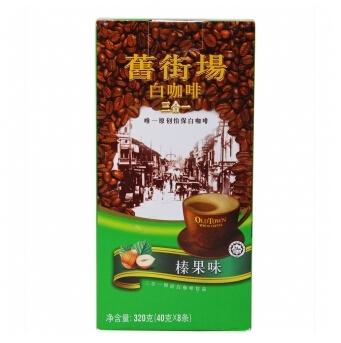 旧街场Old town 3合1榛果味白咖啡 320g18.9元
