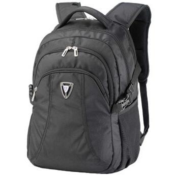 美国森泰斯Sumdex 16寸+平板+手机男士商务双肩电脑背包 PON-380BK黑79.2元(99元,下单打8折)