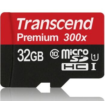 微信专享:Transcend 创见 32G MicroSD(TF)存储卡(UHS-I、300X)75元