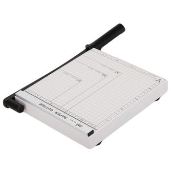 得力 钢质切纸刀250*250mm(10