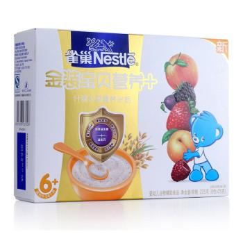 雀巢(Nestle)金装什锦水果营养米粉225g36.50