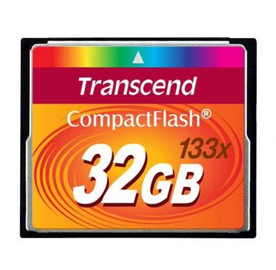限地区惊爆价:创见(Transcend)32G(133X)CF存储卡129元包邮