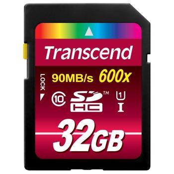 创见(Transcend)SDHC UHS-I 600X 32G 存储卡 90M/s79元包邮