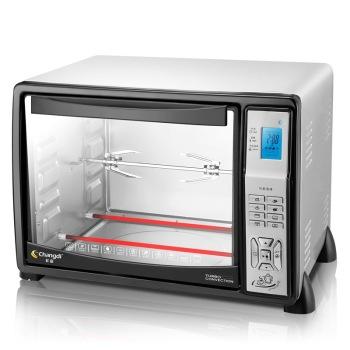长帝 CRDF25立方体内胆电脑智能烘焙电烤箱 264元包邮(398+6-140)