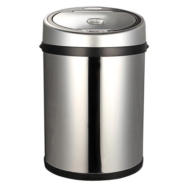 易迅网目前售价在99元,参与文具每满99减49,实付50元部分地区包邮,这个价位一般而言只能购买普通不锈钢9L的垃圾桶,如果能换来更先进的家居用品,何乐而不为呢。 SUNWOOD三木电子智能感应垃圾桶,容量为9L,内桶采用优质PP材质,外桶则是不锈钢桶身,内外桶分离,倒垃圾时只需将内桶提出即可。红外线智能感应: 桶盖上端有红外感应器,只要有物体接近感应范围内,桶盖会自动开启离开感应区数秒后桶盖又会自动关闭。需采用4节5号电池供电,适合办公室、客厅、卧式等场合使用。