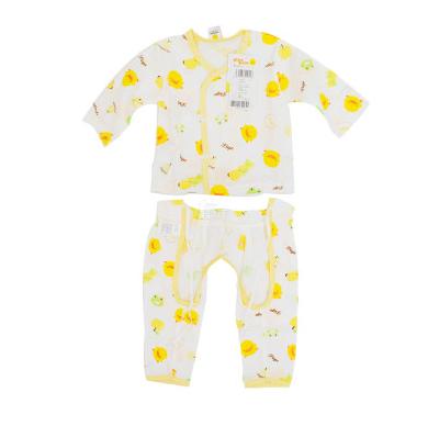 黄色小鸭伙伴纱布肚衣套装32022浅黄色3m+ 浅蓝色折39.75元