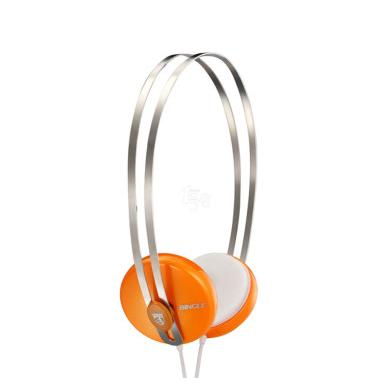 Bingle宾果i330头戴式便携耳机桔色9.9元