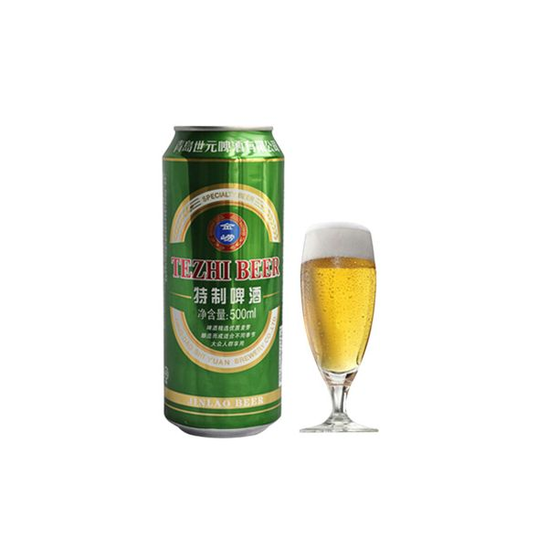 青岛 金崂特制啤酒8度 500ml*4罐