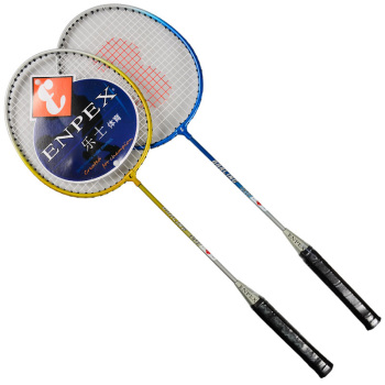 移动端:乐士(Enpex)羽毛球拍对拍 休闲旅游情侣羽拍001 29元,满4免1(赠羽毛球)