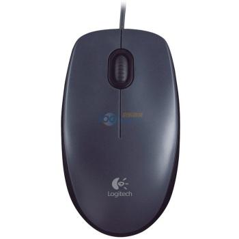 罗技(Logitech)M90 有线鼠标 黑色29元