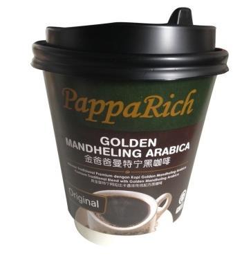 手慢无!限地区!金爸爸(PappaRich)便捷咖啡随行装 黄金曼特宁黑咖啡 10g1元(限购1件)