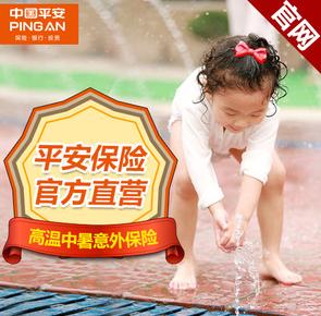 中国平安 夏季高温中暑意外保险 清暑计划10元 (两个月)