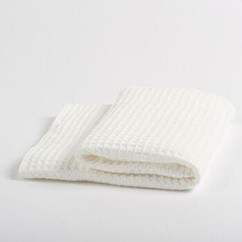 【神价格】慢慢买APP独享:大朴家纺 中空纱华夫格浴巾 纯棉浴巾 A类0元包邮(59-60,移动端)