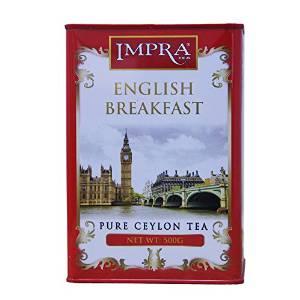 神价格:IMPRA 英伯伦 英式早茶 大叶红茶 500g4.5元包邮(203.5-199)