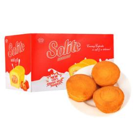 海外直采 越南进口 索利特Solite草莓味瑞士卷 18gx24/盒29元(可满99-50)