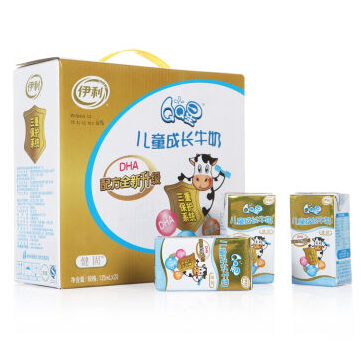 限浙江:伊利 QQ星儿童成长牛奶(健固型)125ml*20盒9.9元,临期特价